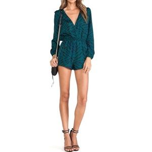 Lovers + Friends Monday to Friday Evergreen Romper